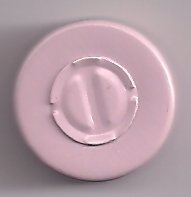 Dusty Pink 20mm center tear vial seals