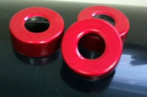 red center hole punch seals
