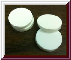 20mm white septas