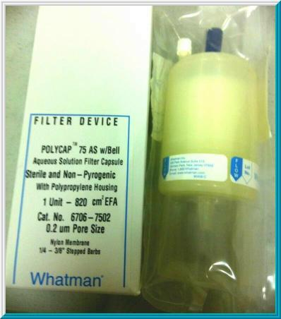Whatman Polycap 75as